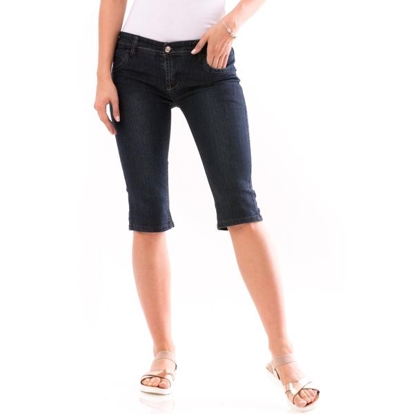 Jeans Trei Sferturi Dama HelloSaturday Bleumarin