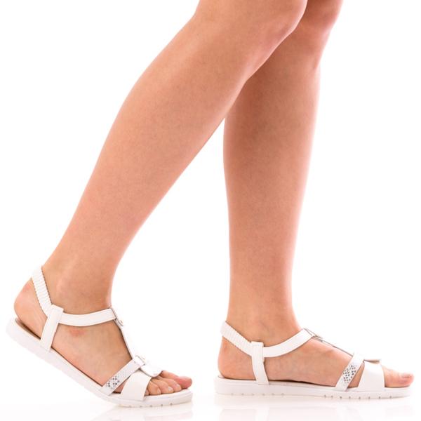 Sandale Dama SummerBenny Alb