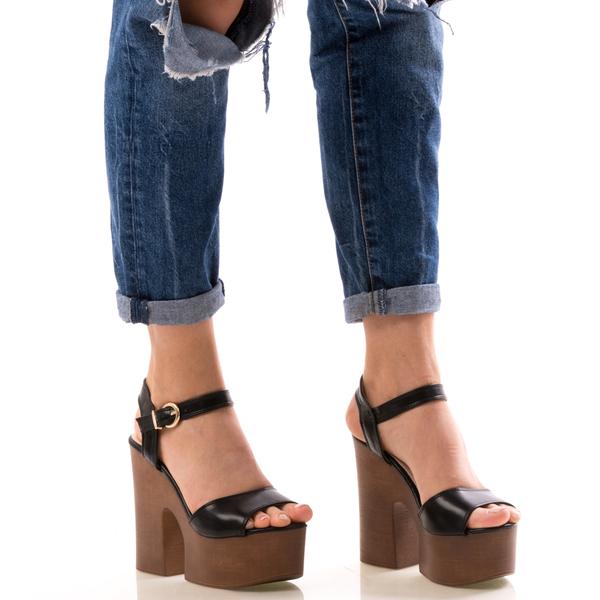 Sandale Dama BlackyOne Negru