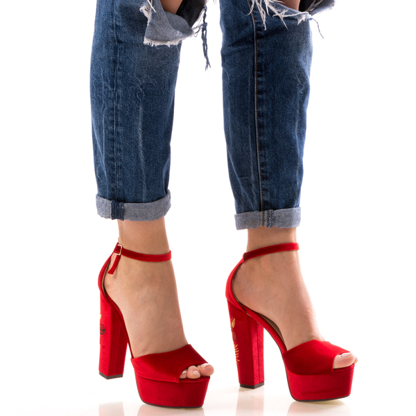 Sandale Dama RedyOne Rosu