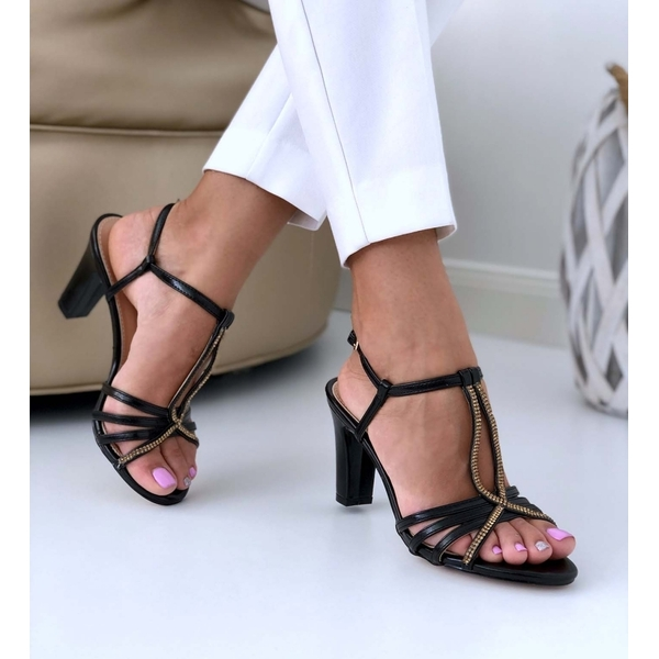 Sandale Dama Gzy166 Negru