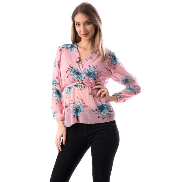 Bluza Dama MidJk122 Roz