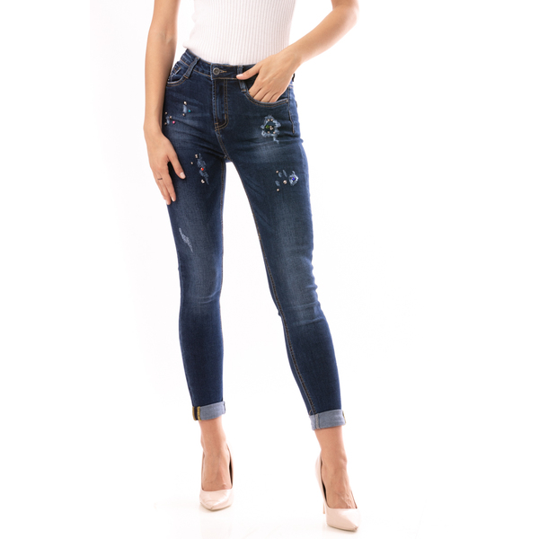Jeans Dama StarExplosion Albastru