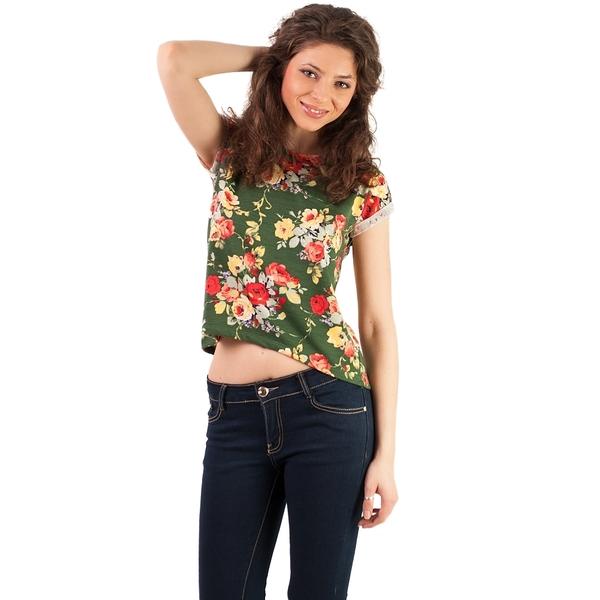 Bluza Dama Flower Perfection Verde