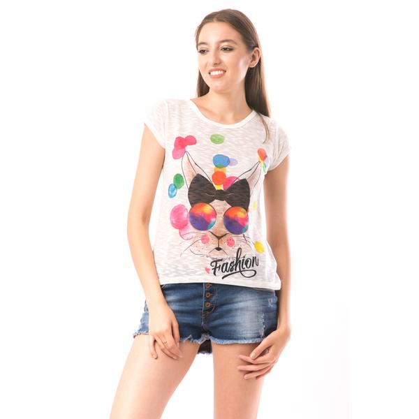 Bluza Dama SweetOrganic Fashion Alb