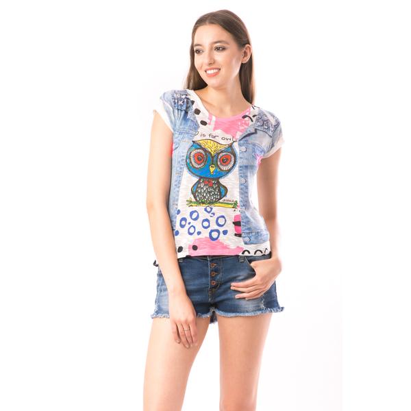 Bluza Dama SweetOrganic Vest Alb