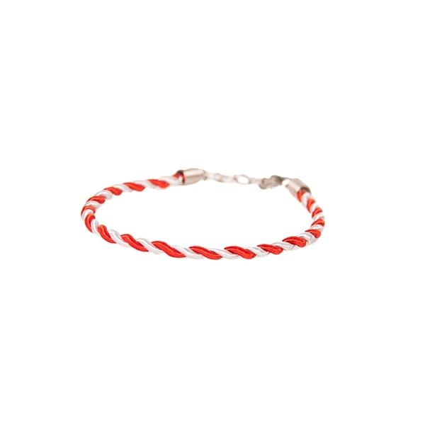 Bratara Traditional March Red&white