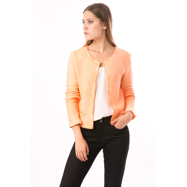 Cardigan Dama Lemonade Orange