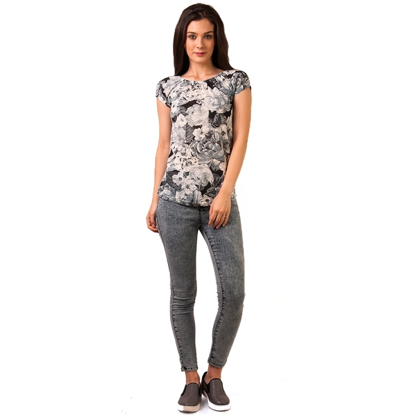 Jeans Model Prespalat Lazybones Light Blue