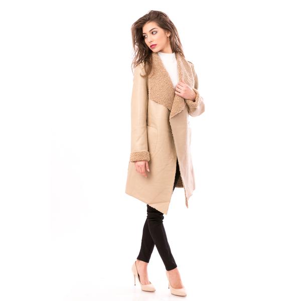 Palton Dama 90Style Bej