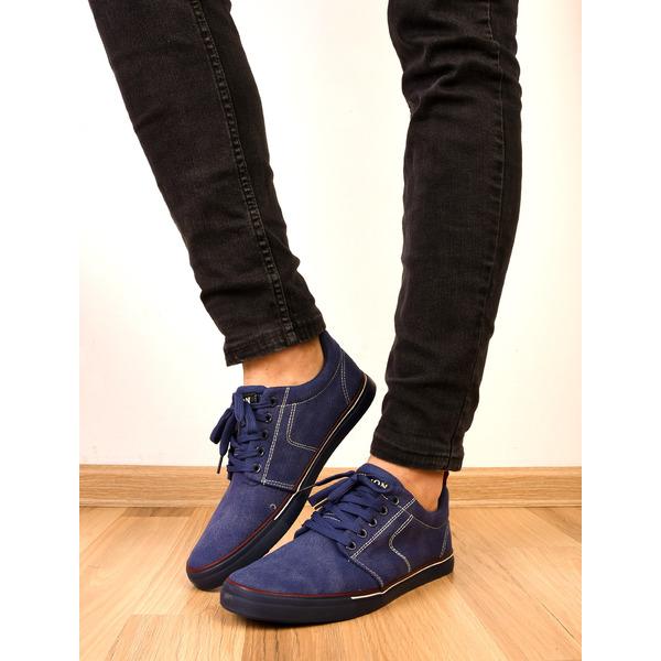 Pantofi Barbati Sport Cu Siret Midnight Bleumarin
