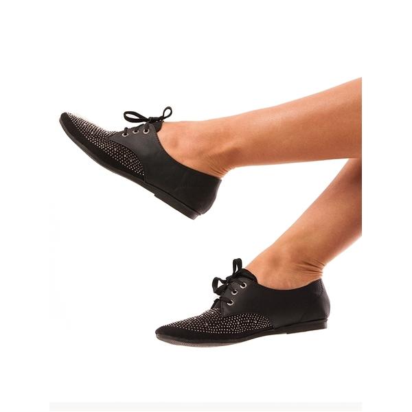 Pantofi Dama Cu Strasuri Find Love Negri
