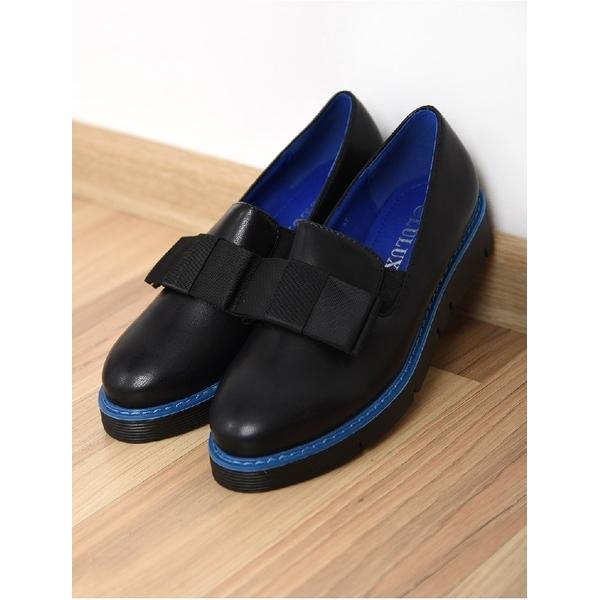 Pantofi Dama Casual Leader Negru Si Albastru
