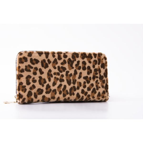 Portofel Dama LeopardBlack