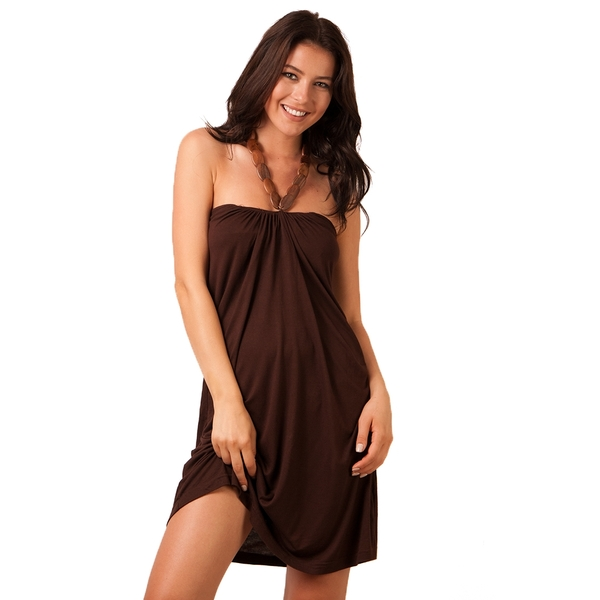Rochie Dama Six Letters Brown