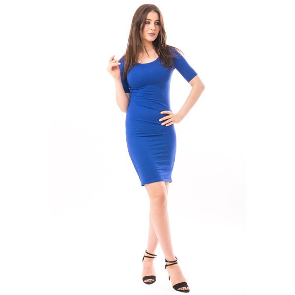 Rochie Mulata Clarity Albastru Electric