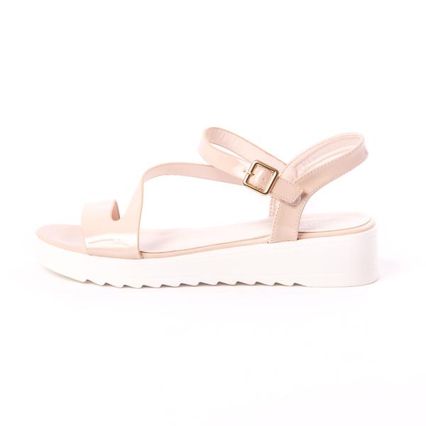 Sandale Dama Lacuite Keep Up Bej