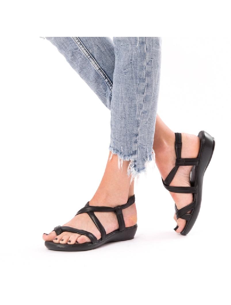 Sandale Dama Violeta Negru