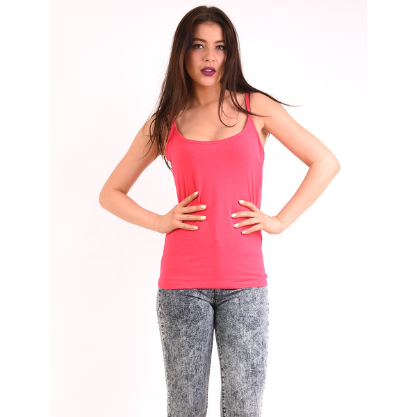 Top Dama Basic Jingle Fucsia