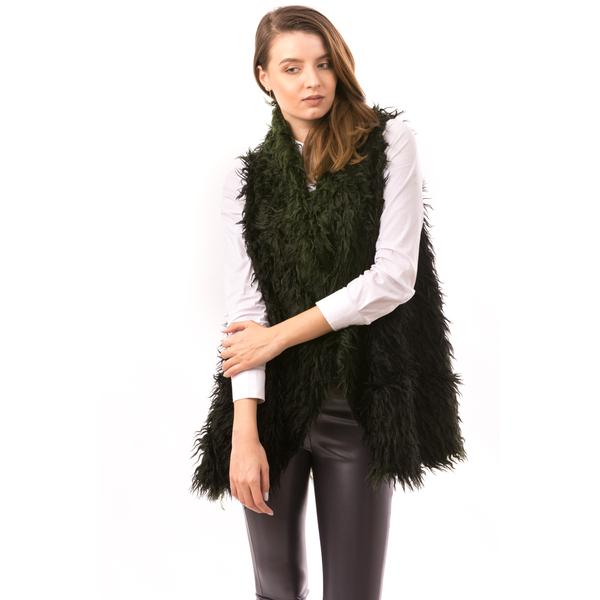 Vesta Dama SheepGreen Verde Si Negru