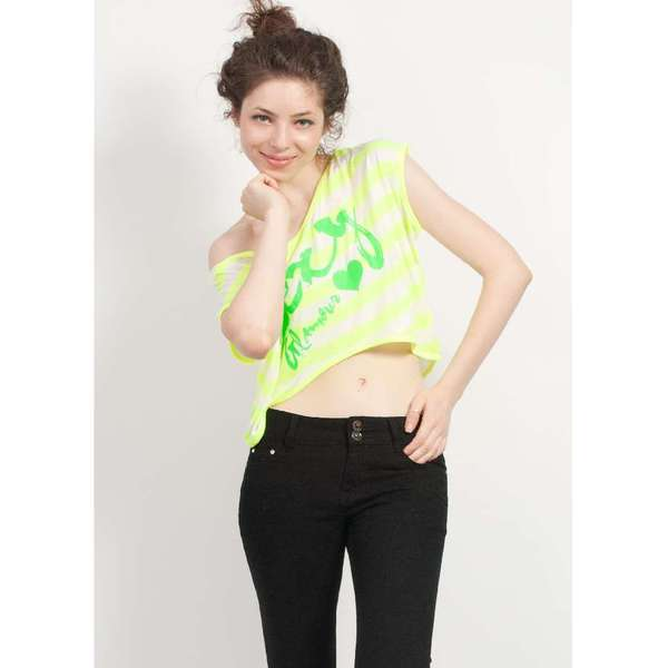 Bluza Hot Stuff Neon Yellow