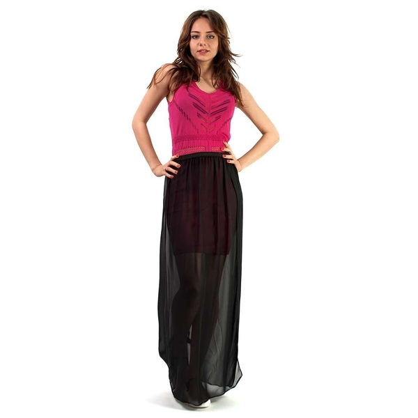 Rochie Long V Cover