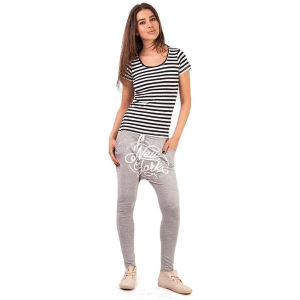 Pantaloni Sport quot;The Big Applequot; Grey