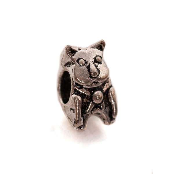 Talisman Bratara Kitty Cat Charm Silver