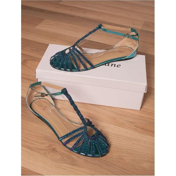 Sandale Shiny Summer Turquoise