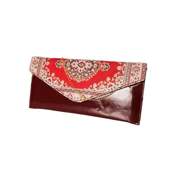 Plic Shiny Classic Flower Garnet&red