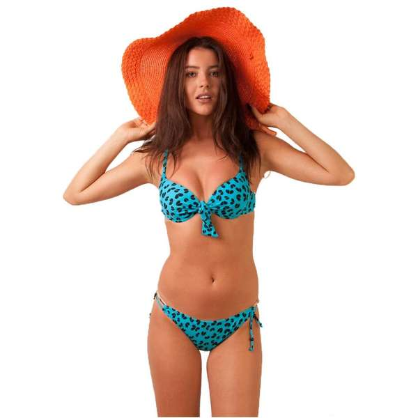 Costum De Baie Safe And Sound Turquoise&black