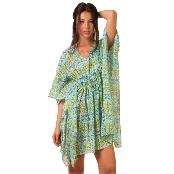 Rochie Dama Heavy With Boom Green&blue