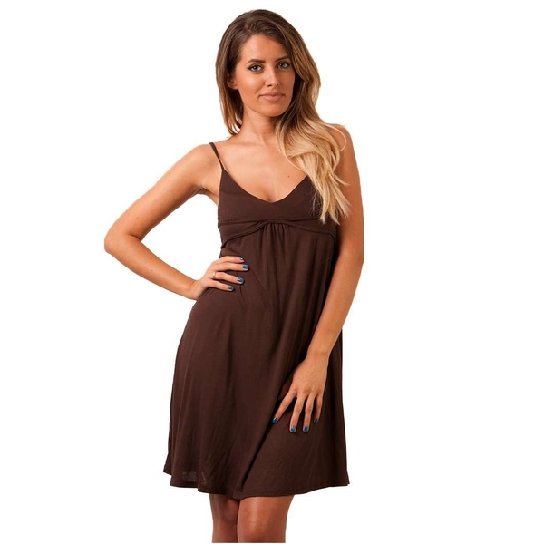 Rochie Dama Eight Letters Brown