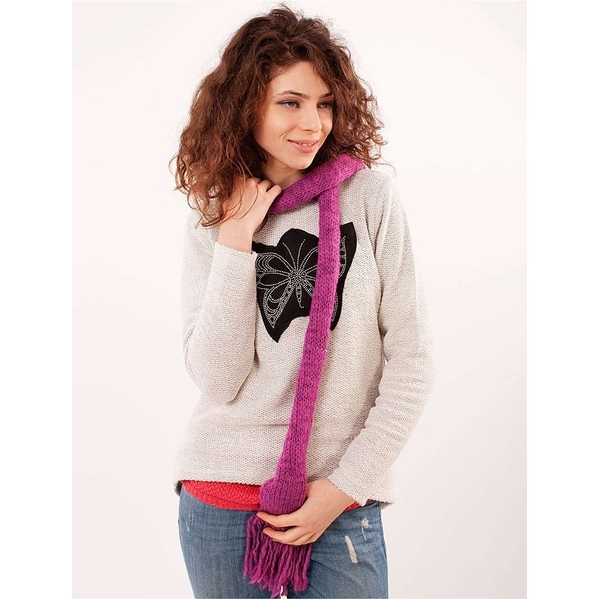 Fular Tricotat 150 Cm -geza Kids Shawl