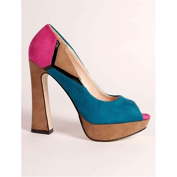 Pantofi Retro Session Blue