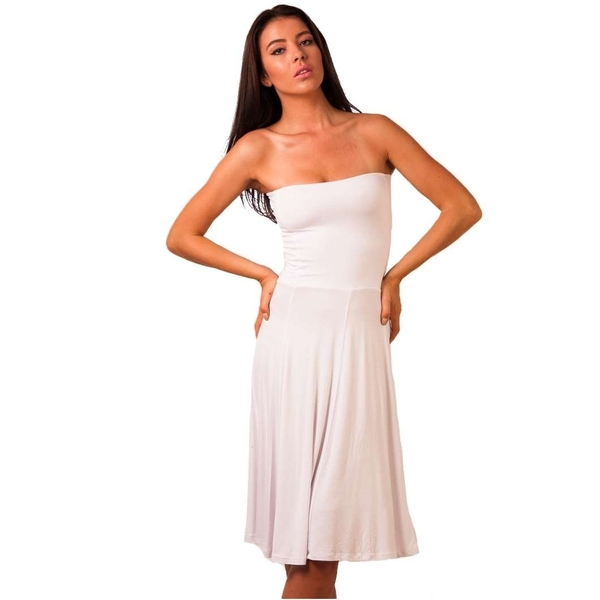 Rochie Dama Jump From Reality White