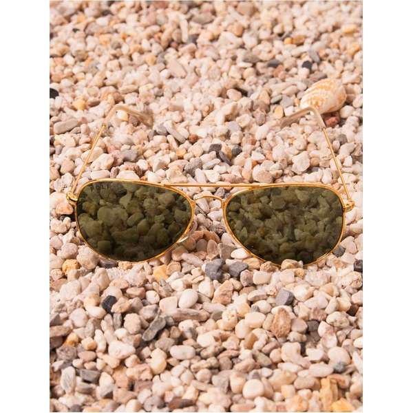Ochelari De Soare Sunrise In Little Beach Green