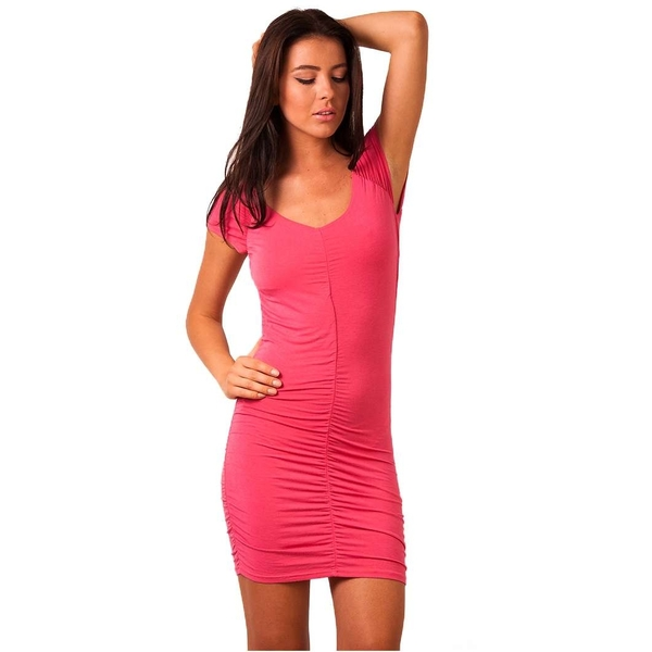 Rochie Dama Light Reflecting Pink