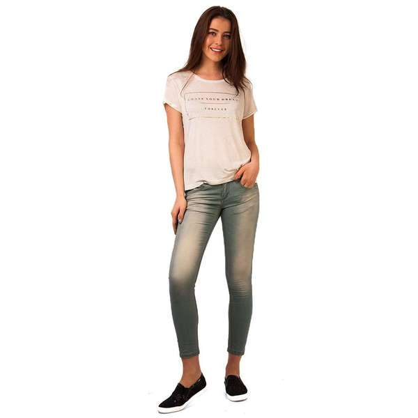 Jeans Prespalati From Flowing Light Blue