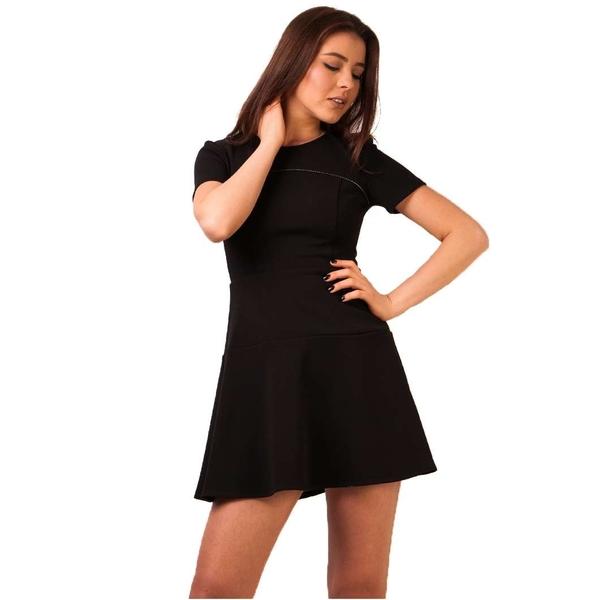 Rochie Soft Neutrals Black