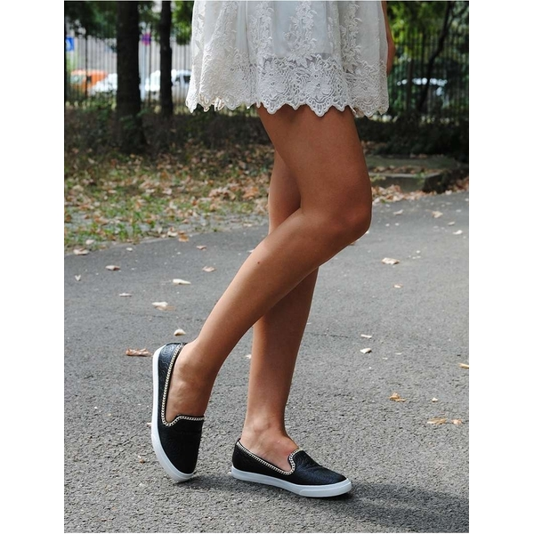 Espadrile Dama The Closer You Get Negre
