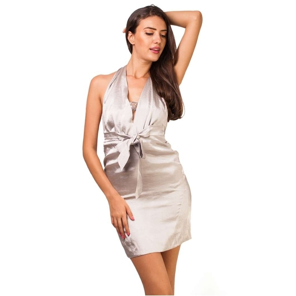 Rochie Light And Wide Silver