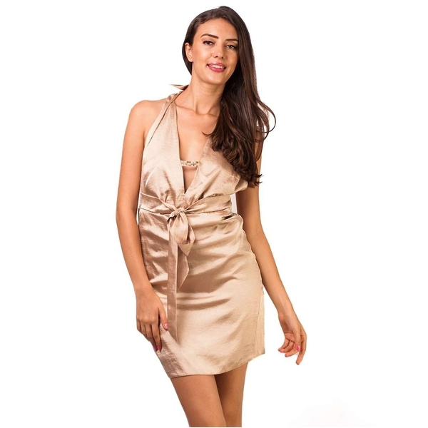 Rochie Light And Wide Golden