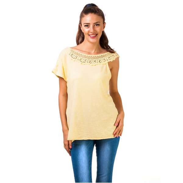 Bluza In Love With Lace Yellow