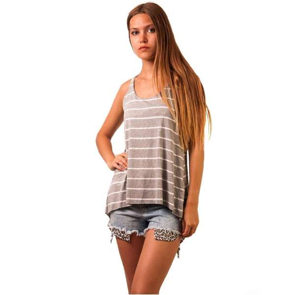 Top Dama Ralax Day Stripes