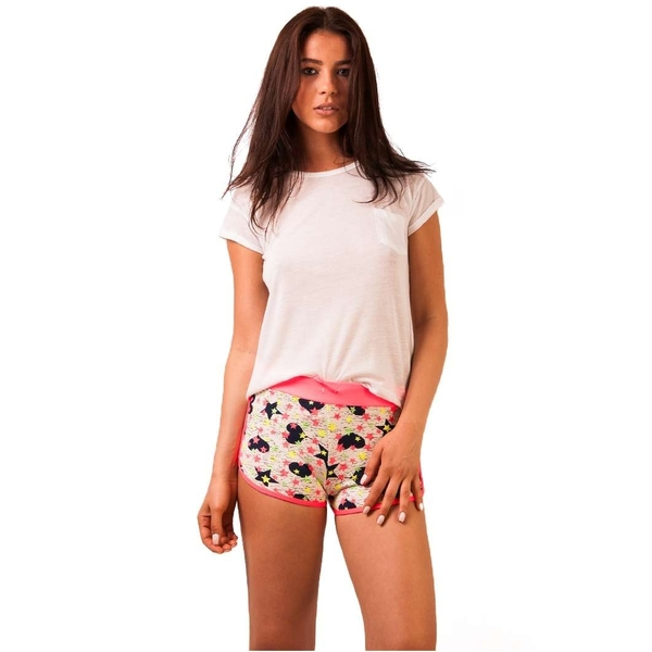 Pantaloni Scurti Hearts Dandy Pink&navy