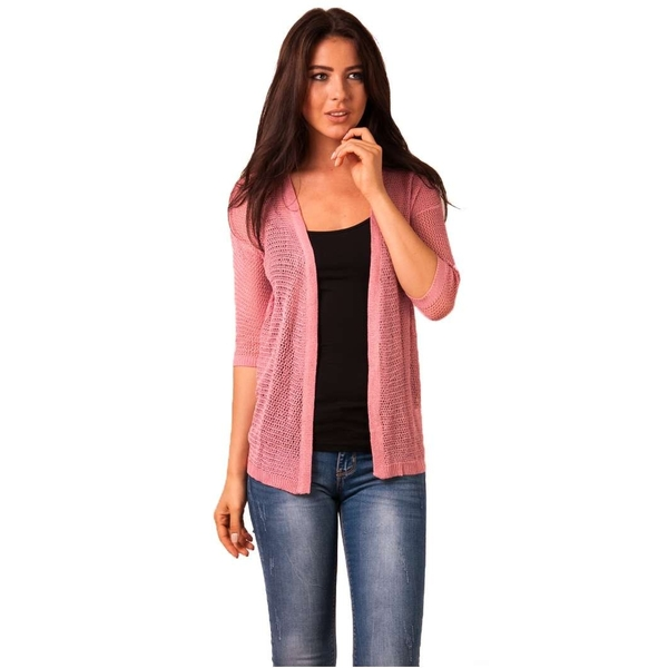 Cardigan Dama Bow Wow Pink
