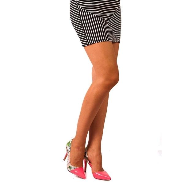 Pantofi Cu Toc Dama Head Up High Fuchsia