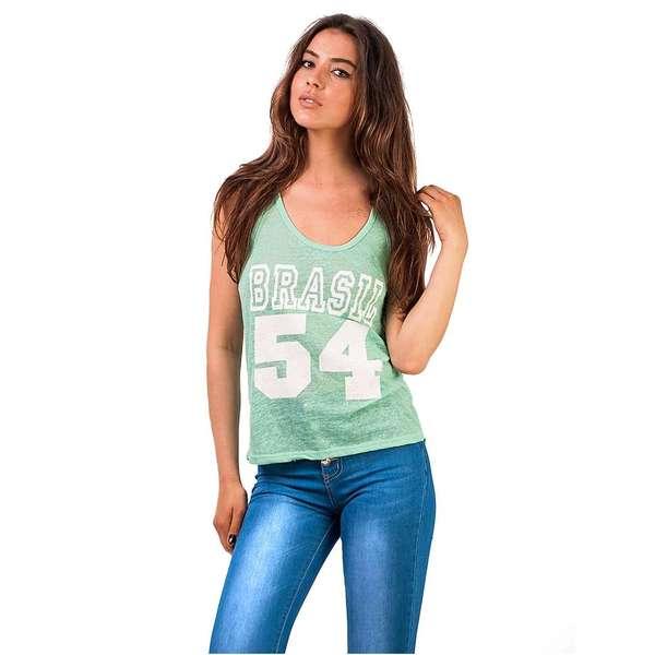 Top Brasil 54 Mint Green