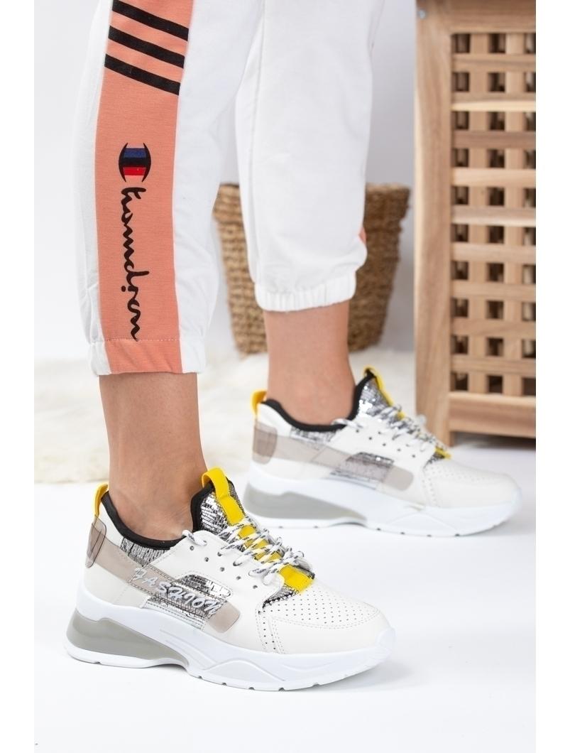 Adidasi Dama Leach Alb Dep